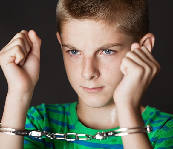 enfant délinquant